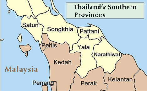 Thailand's Southern Provinces