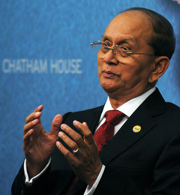 Thein Sein, former military commander, President of Myanmar since March 2011.