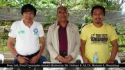From Left, Front Commander Jannati Mimbantas, Mr. Oshama B. Ali, Dr. Marjanie S. Macasalong